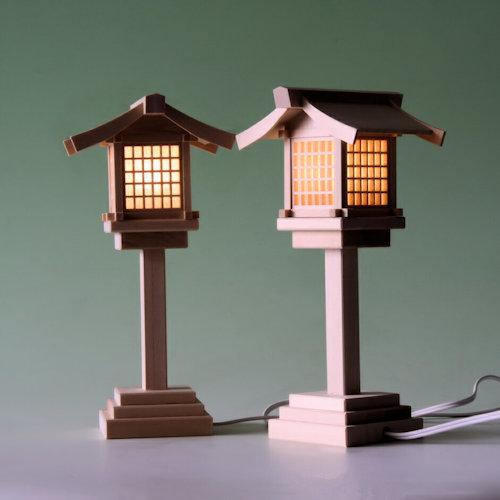 尾州桧で作る木製灯篭 吊り灯篭