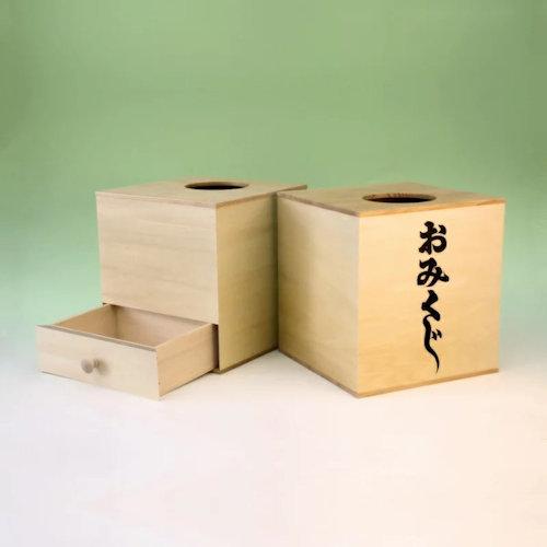 神社で使うおみくじ箱