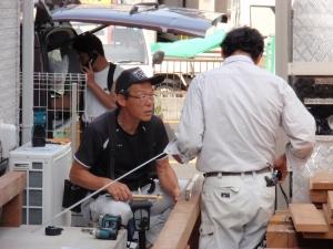 ウリン材を利用した拘りのウッドデッキ工事 :エクステリア横浜(神奈川県・東京都の外構工事専門店)