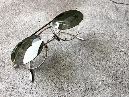 オリジナルクリップオンサングラス製作 新潟県 三条市 めがね店