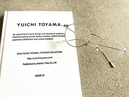 YUICHI TOYAMA ユウイチトヤマ めがね サングラス 見附市 めがね店