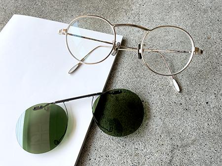 オリジナルクリップオンサングラス製作 新潟県 見附市 めがね店