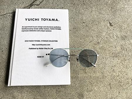 YUICHI TOYAMA ユウイチトヤマ サングラス 新潟県 取扱い 見附市 めがね店