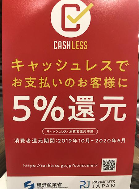 キャッシュレス 5%還元 見附市 稲田眼鏡店