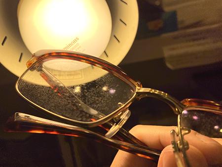 めがねレンズの傷 汚れ レンズ交換 新潟 長岡 三条 見附 燕 小千谷 柏崎 上越 稲田眼鏡店