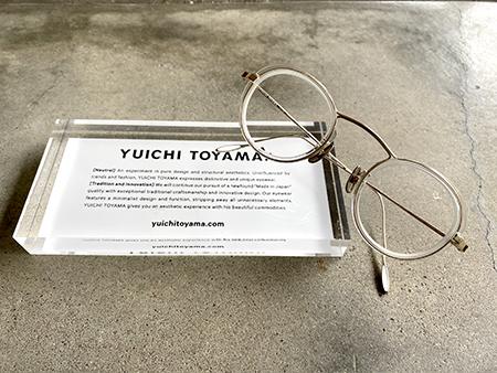 YUICHI TOYAMA ユウイチトヤマ  U-109  新潟 長岡 三条 柏崎 燕 見附市 メガネ店 おすすめ