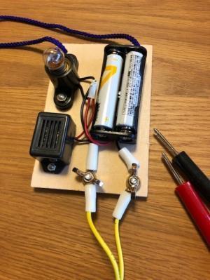 電池と回路A