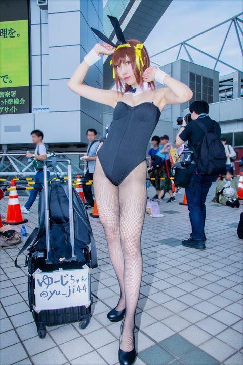 涼宮ハルヒ バニー ゆーじ コスプレ 01