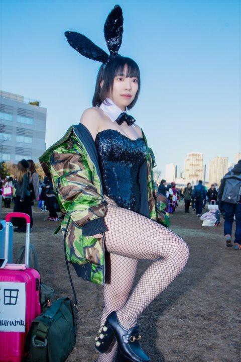 バニーガール 無無田 コスプレ 4