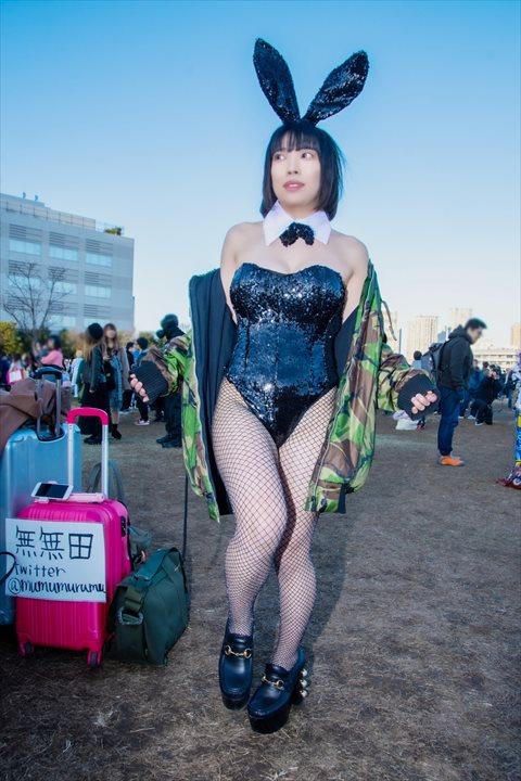 バニーガール 無無田 コスプレ 5