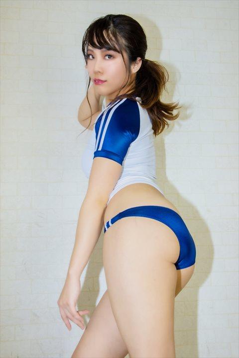 PredatorRat 光沢超ローライズラインブルマ 体操服 サイコ コスプレ 04