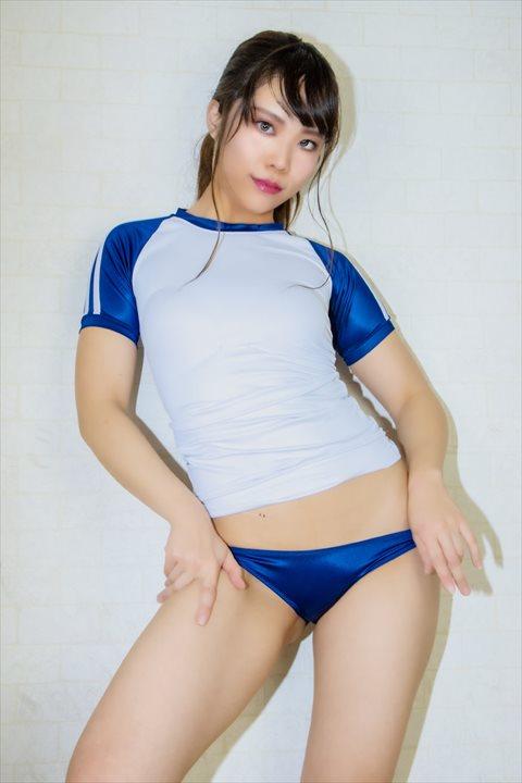 PredatorRat 光沢超ローライズラインブルマ 体操服 サイコ コスプレ 07