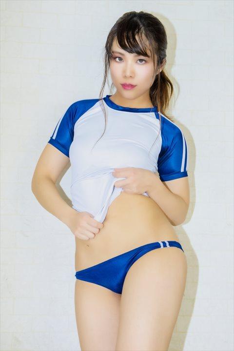 PredatorRat 光沢超ローライズラインブルマ 体操服 サイコ コスプレ 23