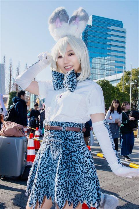 けものフレンズ ホワイトサーバル ふぁみ コスプレ 3