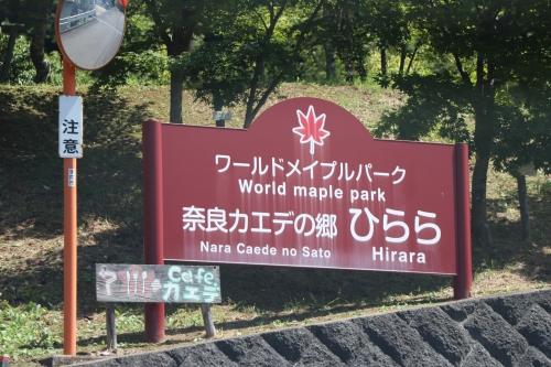 奈良カエデの郷ひらら
