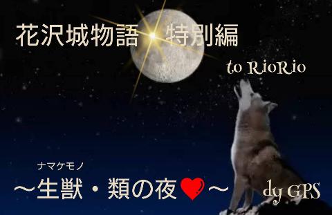 『花沢城物語・特別編 ~生獣・類の夜❤~』 りおりお様へ