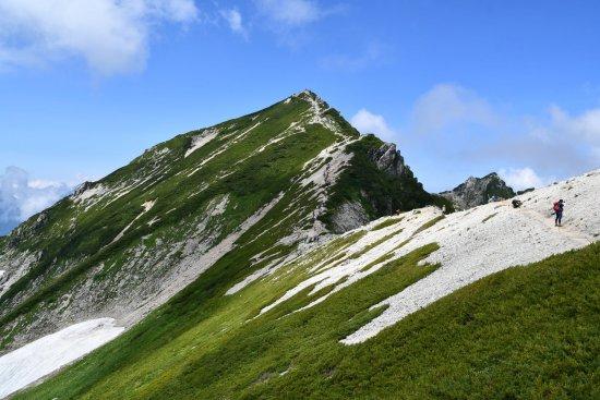 19唐松岳13山頂方面