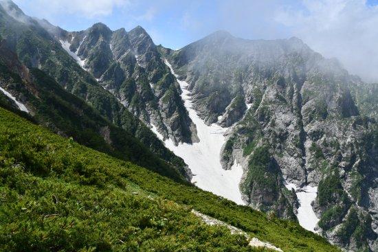 19唐松岳16大雪渓