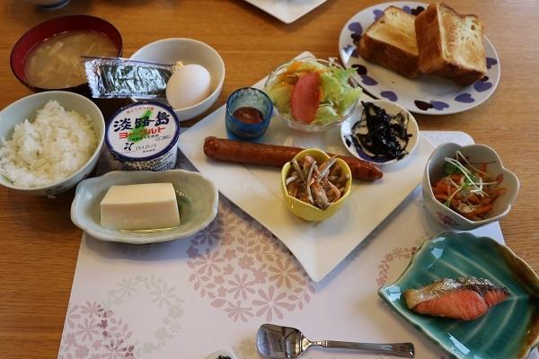 2019.10.04 淡路島旅行2日目① ハナ&キッス⑤朝食-4