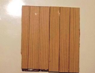 昆布の佃煮の箱使用の壁