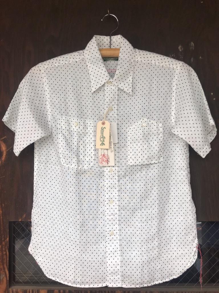 SUGARCANE lightのドットシャツ。【横田店】