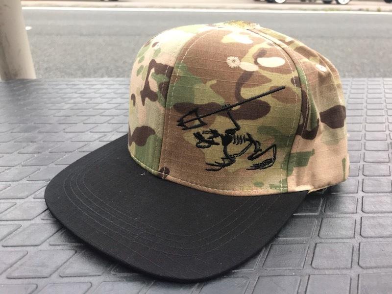 MI01AHA SKULL FROG FlatBill Cap (1)