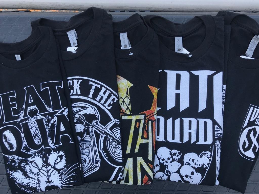 DEATH SQUADのTシャツ。【横田店】
