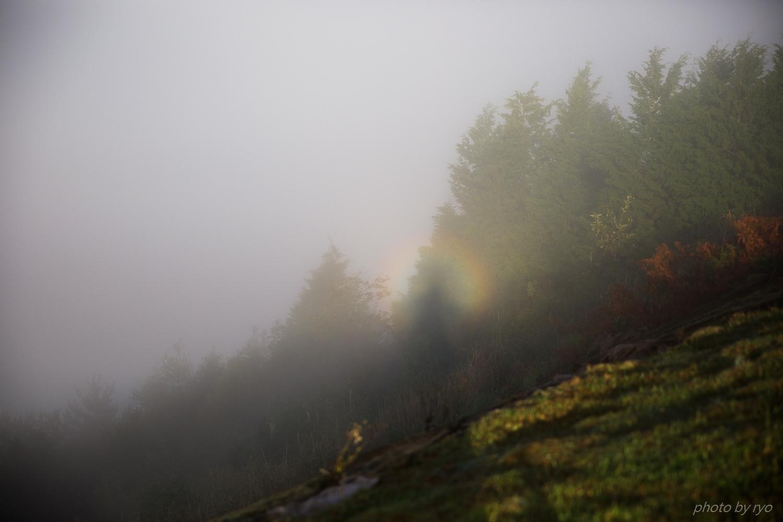 ブロッケンと白虹が見えた朝_14
