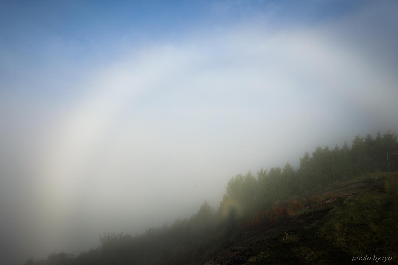 ブロッケンと白虹が見えた朝_15
