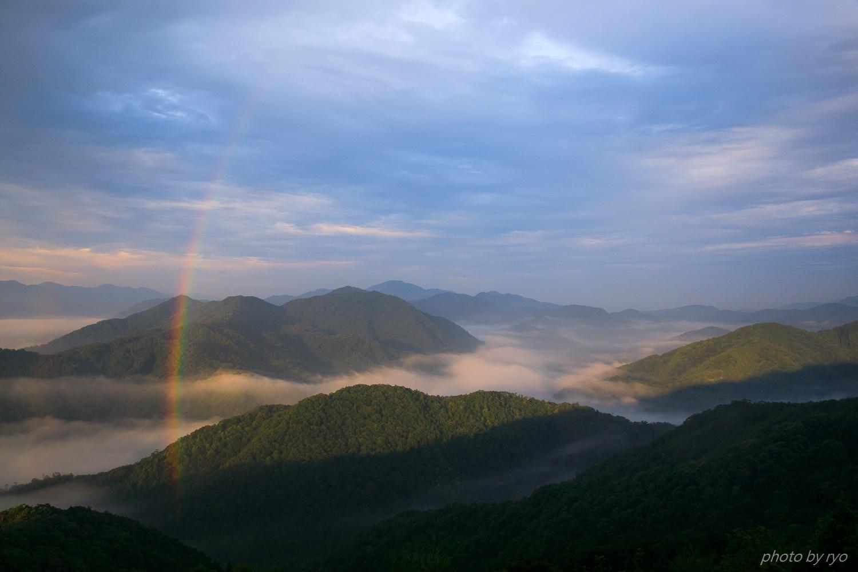 虹の見えた朝_4