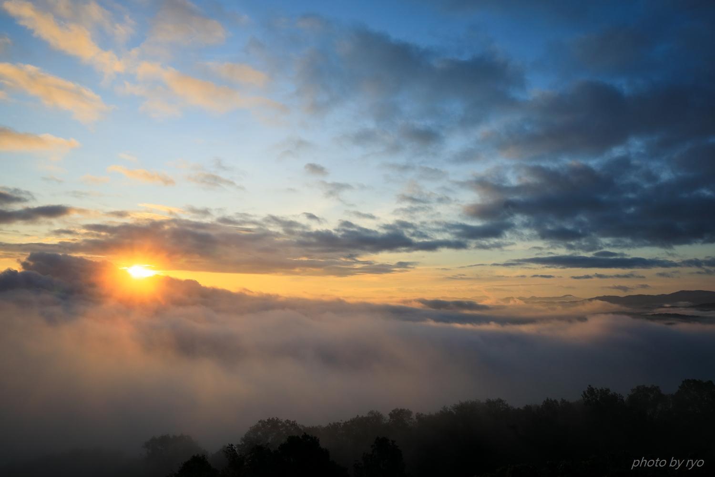 光環の見えた朝