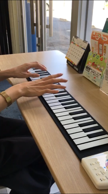 ロールアップピアノ4