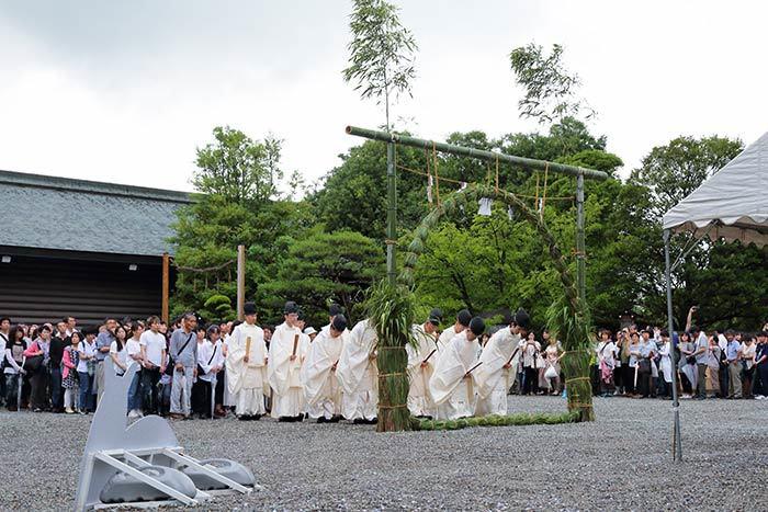大神神社 夏越大祓4