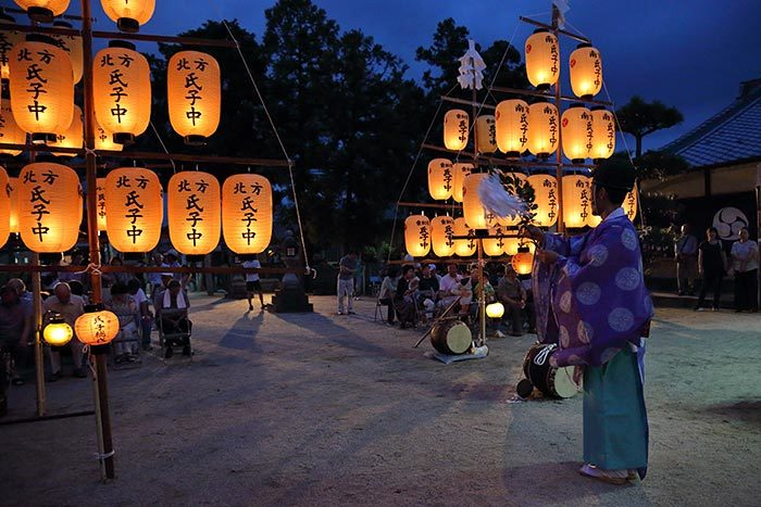調田坐一事尼古神社 夏祭り2