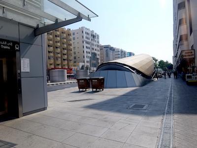 スペイン中東075ドバイ駅AlRigga