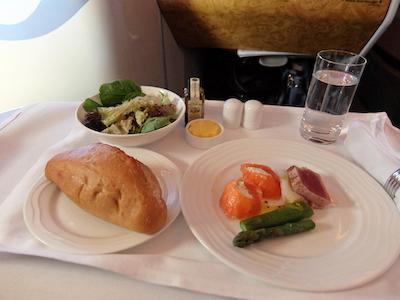 スペイン中東100エミレーツ機内食