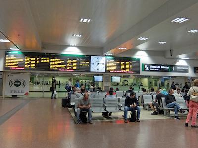 スペイン中東112マドリッドチャマルティン駅