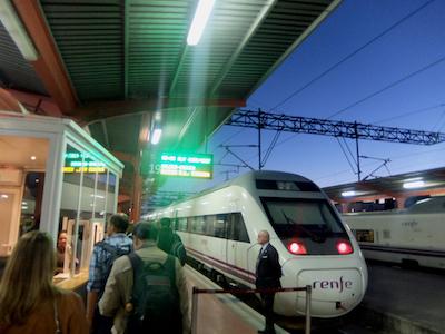 スペイン中東113マドリッドチャマルティン駅