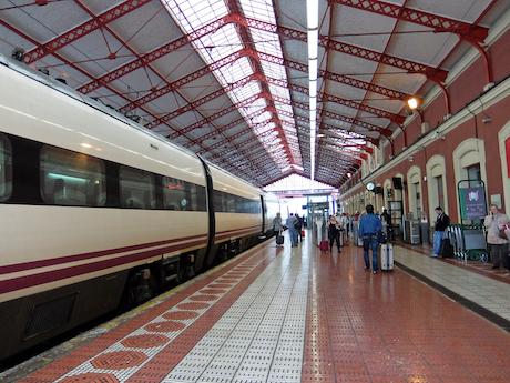 スペイン中東121サンセバスティアン駅