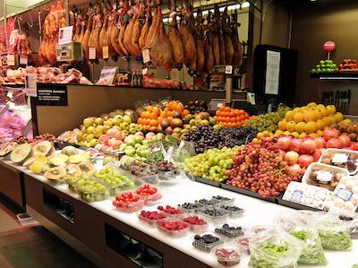 スペイン中東167サンセバスティアン市場