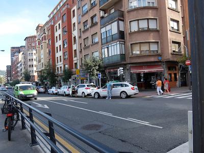 スペイン中東176ビルバオタクシー乗り場