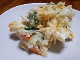 【写真】らっきよう入りのポテトサラダ