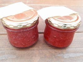 【写真】試作中のポレポレ苺の手作りジャム