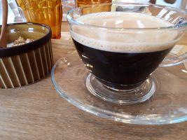 【写真】デリ・カフェ・キートスの食後のコーヒー