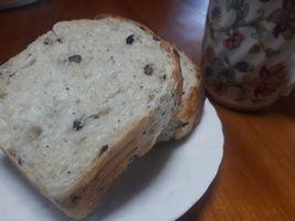 【写真】最近お気に入りの山型パンのトースト