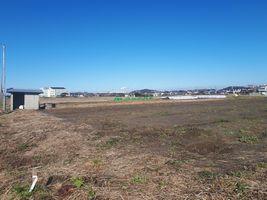 【写真】草刈りを終えた育苗ハウス建設予定地の様子