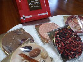 【写真】ベルアメールのチョコレート