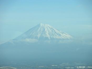 新幹線内から撮影した富士山2020年