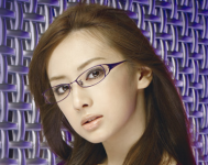 眼鏡美人 北川景子さん