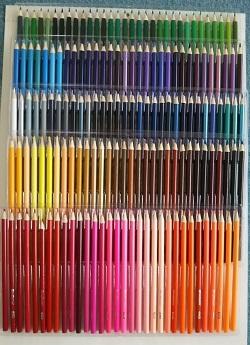 160色鉛筆